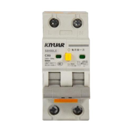 S9H80LE 剩余电流保护断路器