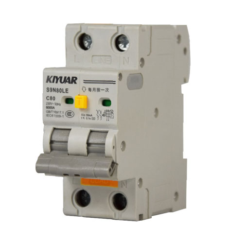 S9B80LE residual current protection circuit breaker